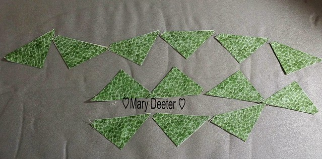 Chain piecing