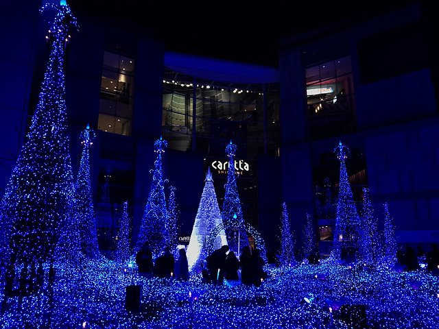 Shiodome Lights Show
