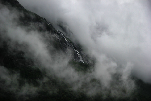 A Waterfall in the Clouds
