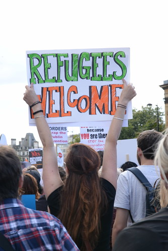 Refugees Welcome | by Ilias Bartolini