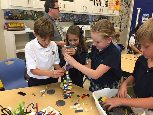 Engineering Design Builds in STEM Club   by Wesley Fryer