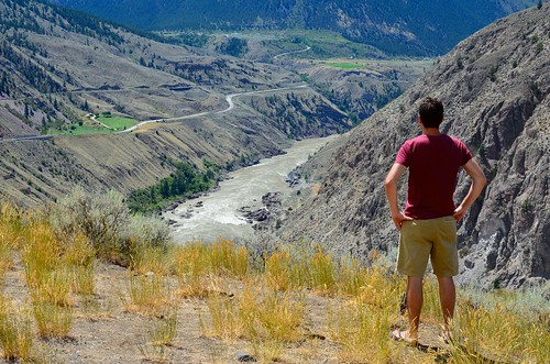 Looking out at the Fraser Canyon | by alixmahe