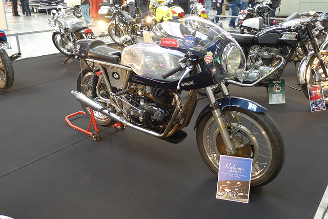 Rickman Triumph T120 Bonneville 8 Valves 650cc 1970 700cc OH8V