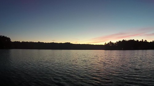 sunset 2 water video twilight aerial vision phantom dji lowaltitude