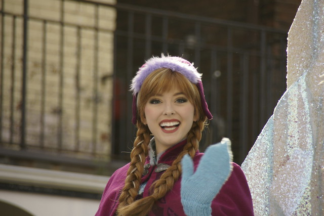 Anna on Frozen Float