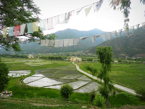 Paro from Kichu Monastery | by moon@footlooseforever.com