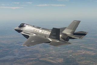 Testflyging av første norske F-35 | by Forsvarsdepartementet