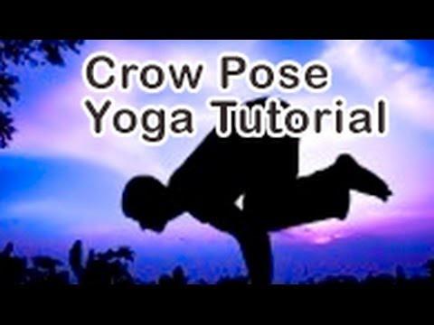 crow pose bakasana tutorial  yoga asana instruction