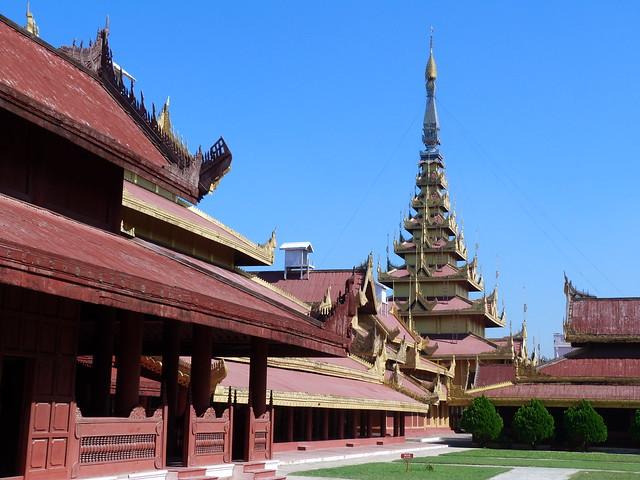 Palacio Real de Mandalay (Myanmar)