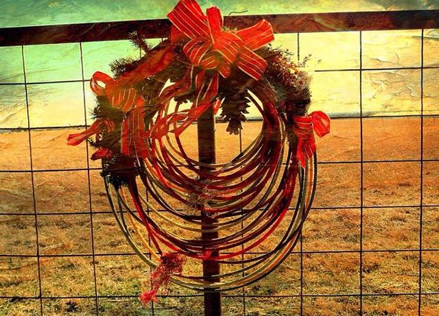 #Spirit #SnapAdventChallenge  #Christmas #ChristmasinOklahoma #Wreath #MyOklahoma