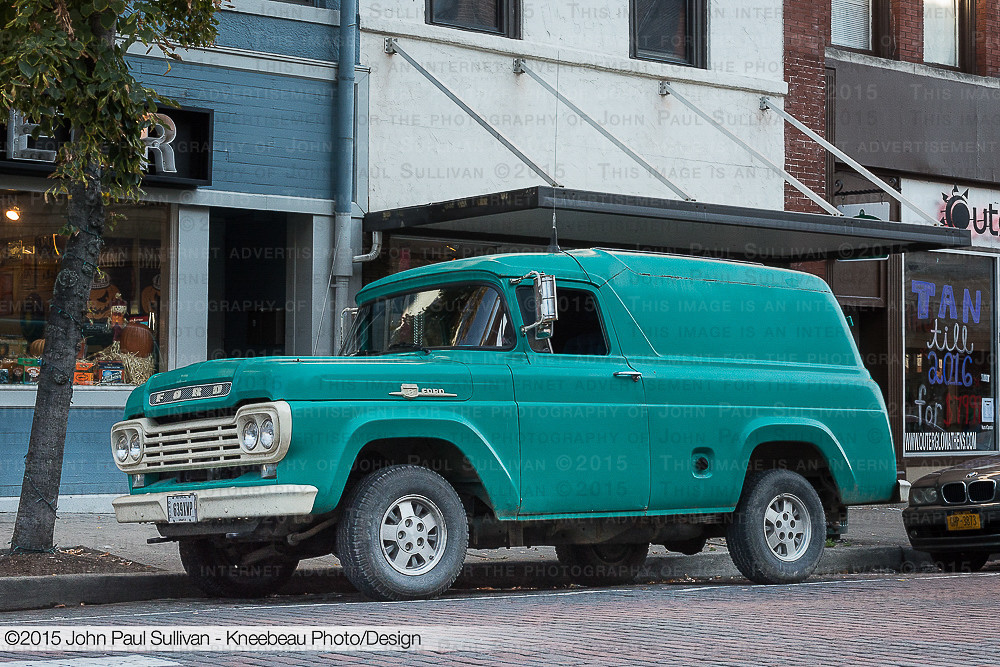 Court Street Ford >> 1959 Ford Panel Truck Parked On Court Street 3 4 View Flickr
