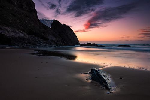 sunset sky beach portugal colors clouds coast sand rocks sony algarve aljezur costavicentina rogil sonyalpha vicentine valedoshomens vicentinecoast
