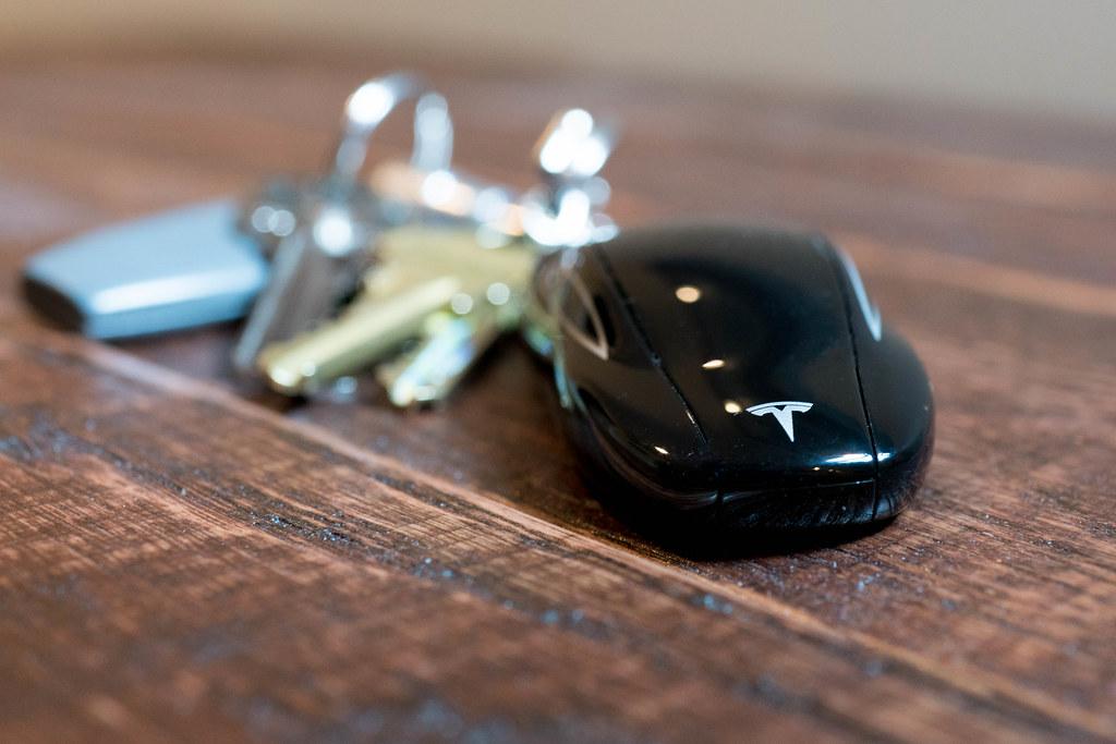 Tesla Model S Key Fob