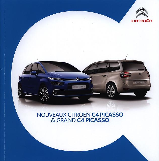 Citroën C4 Picasso & Grand C4 Picasso, Nouveaux; 2016_1