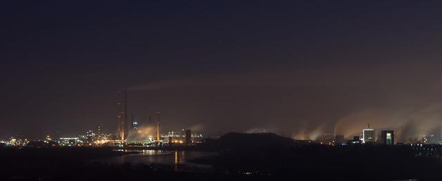 Blick auf Duisburg