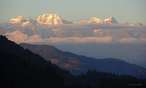 chamlang leblu merapeak montagnes nepal nuages préci salyanvdc solukhumbu