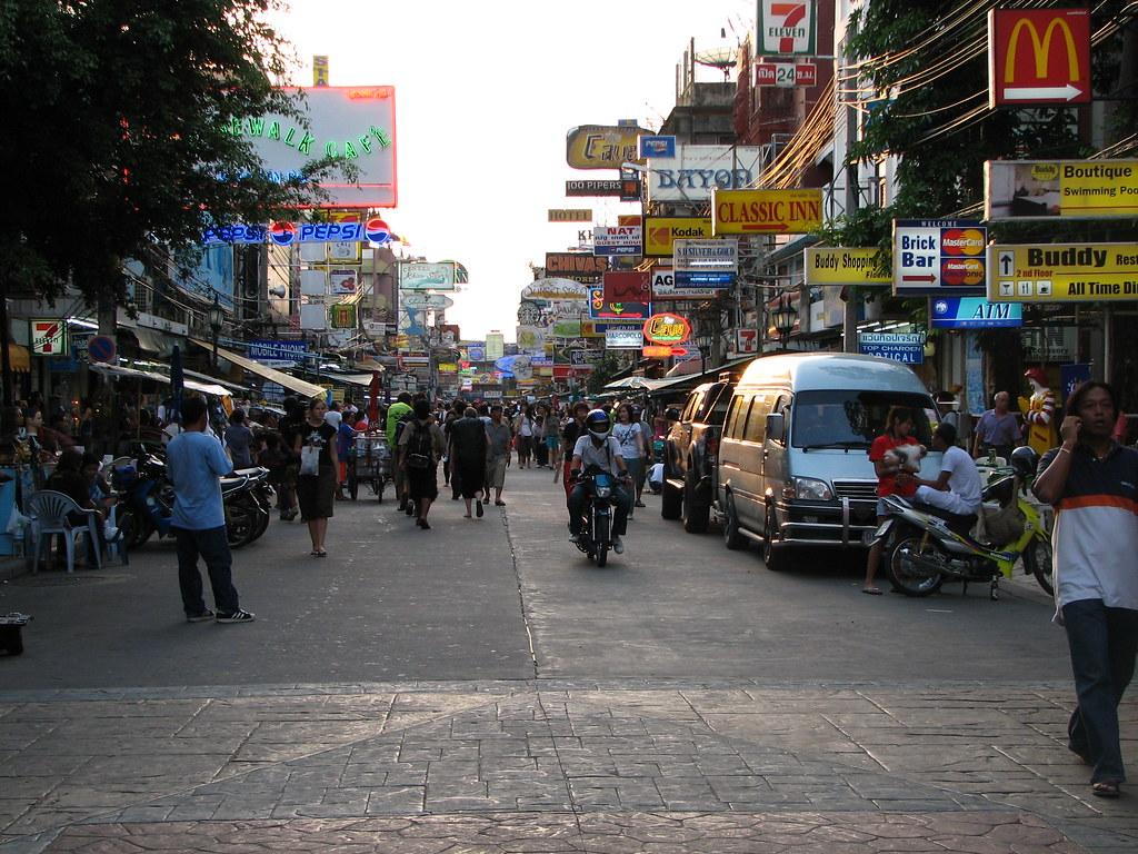 Thailand '06 - 27 Bankok's Khao San Road