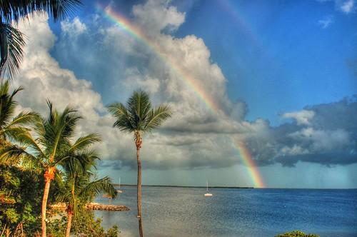 travel vacation beautiful d50 geotagged rainbow florida earth nikond50 hdr keylargo beautifulearth geo:lat=2513841 geo:lon=8039915