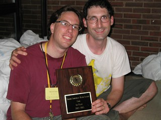 Matt & PJ & Plaque