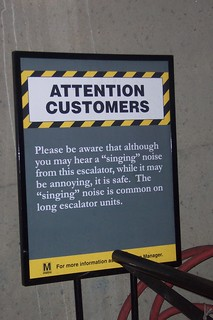 WMATA Attention Customers... (Washington D.C) | by Dan Dan The Binary Man