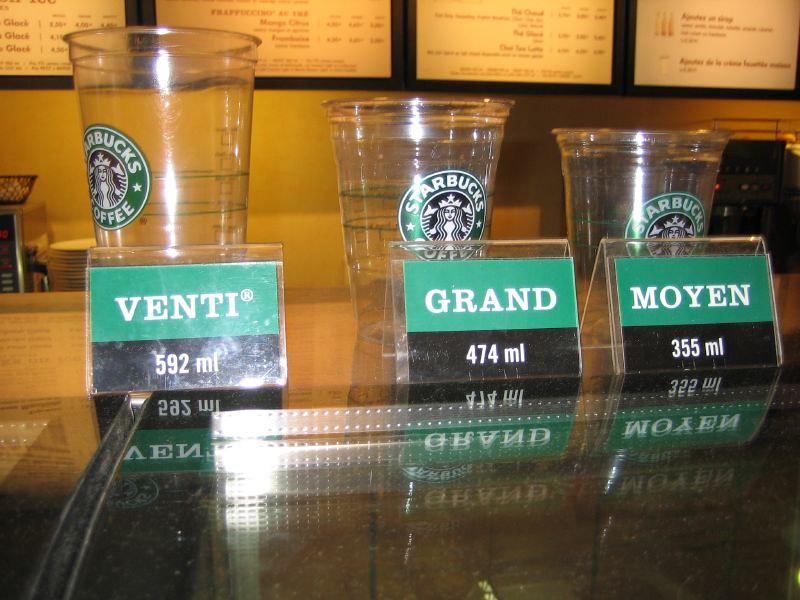 Starbucks Sizes In France Kyle Krafka Flickr