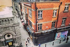 Johnson's Court and Clarendon Row from the top floor of @powerscourtcentre :ok_hand:
