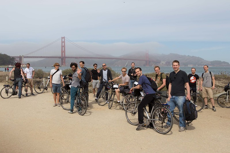 Company trip to San Francisco