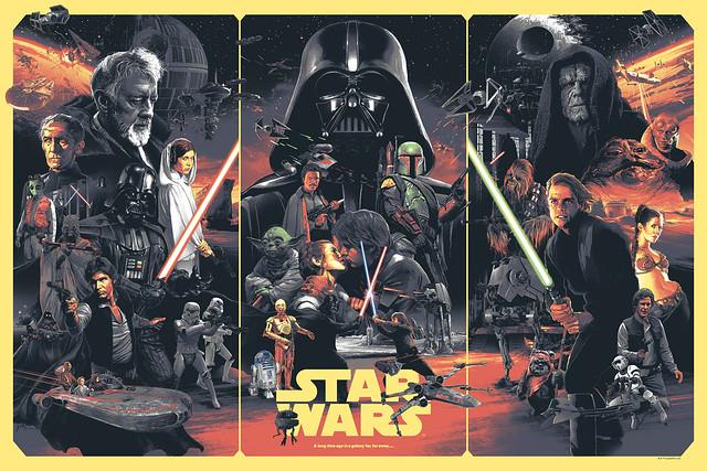 Star Wars por Grzegorz Domaradzki Gabz
