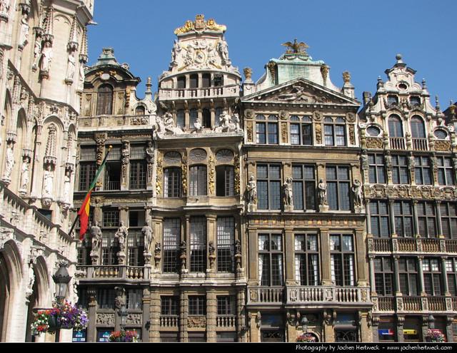 Guildhalls, Grand Place, Brussels, Belgium