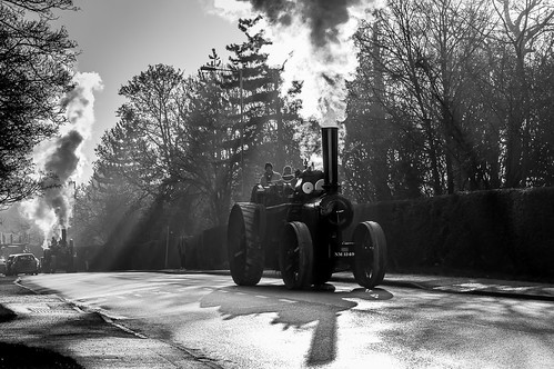 arlesey bedfordshire ploughingengines roadrun stotfoldchristmas