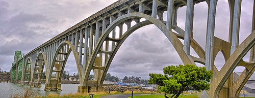 Yaquina Bay Bridge | by Kirt Edblom
