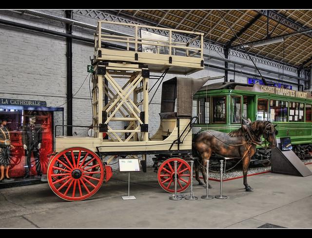 Liège B - Musée des Transports en commun du Pays de Liège - UNIFIEDTRAMS BY LIEGE AND EXTENSIONS (T.U.L.E). 1893 model