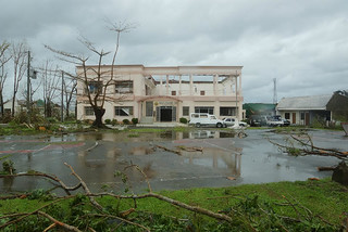 The DILG Region VIII office sustained extensive damage during Super Typhoon Yolanda (I) | by dilg.yolanda