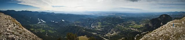 Extraordinaria panoramica des del Puig de les Morreres