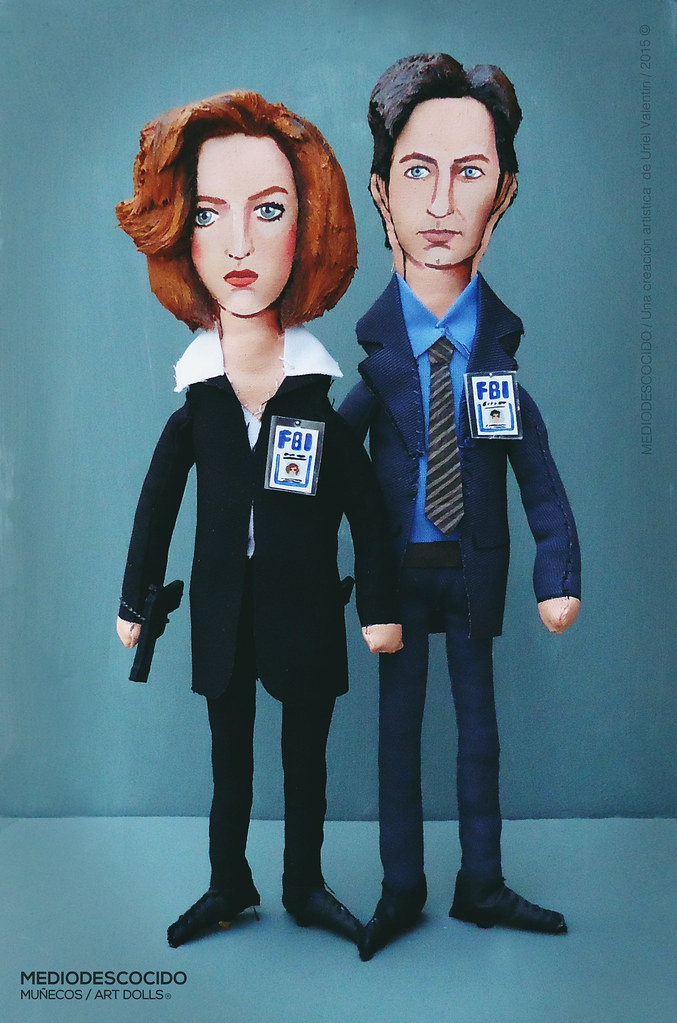 I WANT TO BELIEVE Dana Scully & Fox Mulder / The X-Files | Flickr