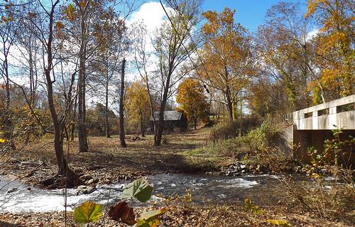 autumn fall mill beautiful river landscape virginia outdoor fallcolors scenic foliage va serene autmn littlewashington 2015 rappahannockcounty rushriver avonmill