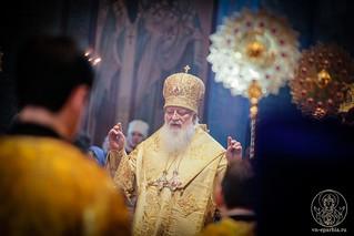 Литургия в Софийском соборе 150
