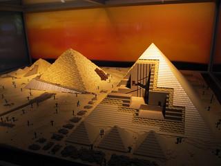 Lego Pyramids of Giza