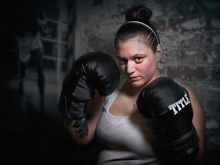 She will knock you out