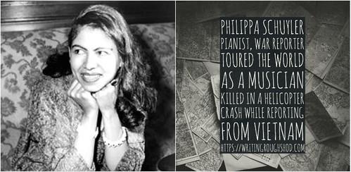 PHILIPPA SCHUYLER #100travelHERS | by sandrakaybee