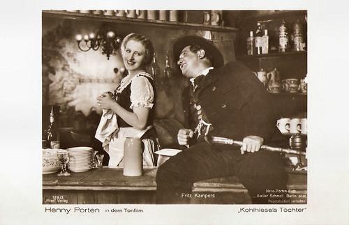 Henny Porten and Fritz Kampers in Kohlhiesels Töchter (1930)