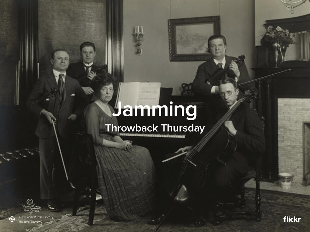 Throwback Thursday: Jamming