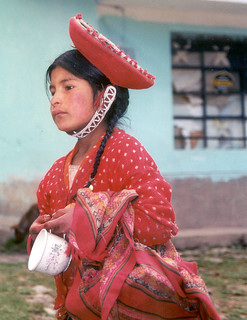 Peru Sacred Valley School Girl