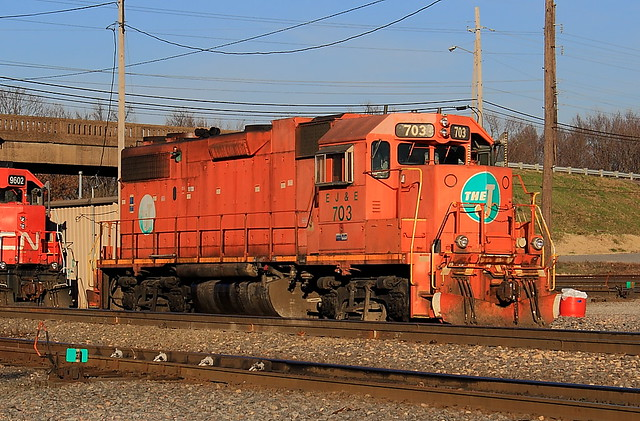 EJ&E 703 Fulton, KY
