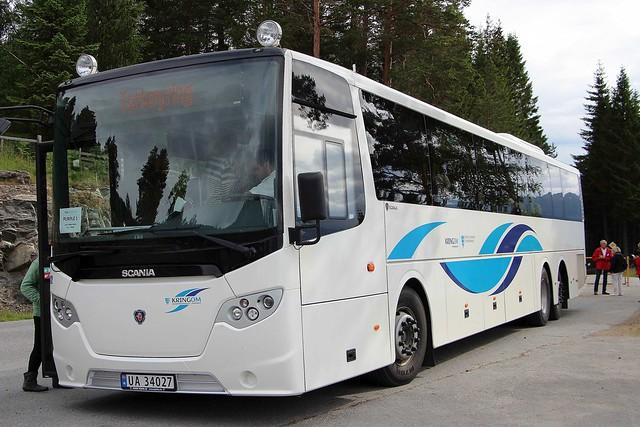SCANIA Omni Express 320 - KRINGOM Sogn Og Fjordane Fylkeskommune Norway