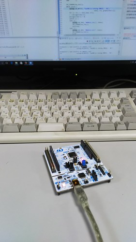 NUCLEO-F401RE で TOPPERS/ASP(RTOS)を動かす