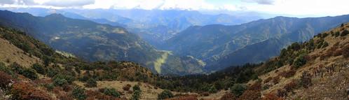 montagnes nepal préci panoramapanoramique phaplu solukhumbu
