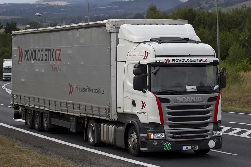 "Scania R Streamline "" ROVOLOGISTIK "" (CZ)"