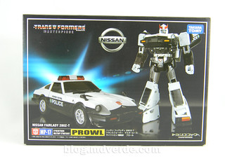 Transformers Prowl Masterpiece - caja | by mdverde