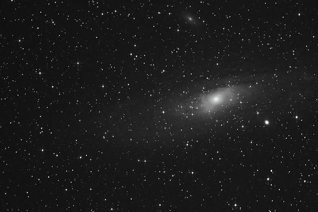 Andromeda (M31), M32 & M110